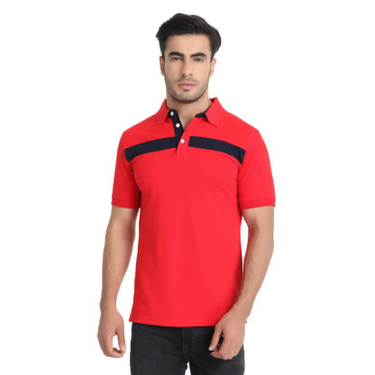 Reich Color PC PK Polo T Shirt Red