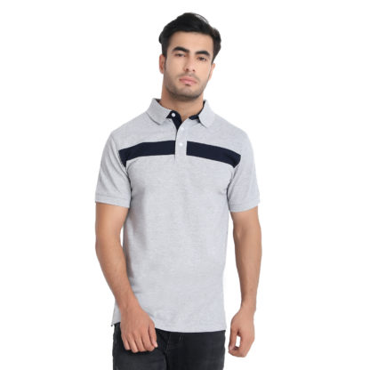 Reich Color PC PK Polo T Shirt Grey
