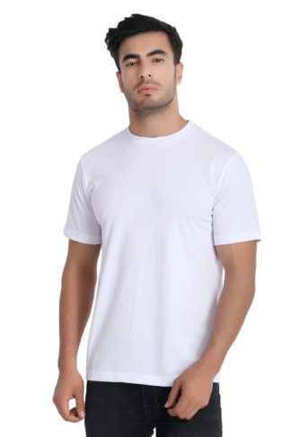 Reich Color PC Single Jurcy Round Neck T Shirt White