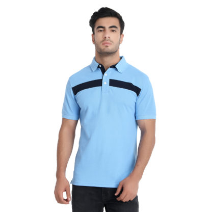 Reich Color PC PK Polo T Shirt Sky Blue