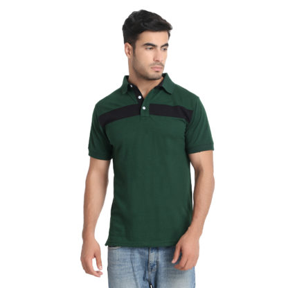 Reich Color PC PK Polo T Shirt Green