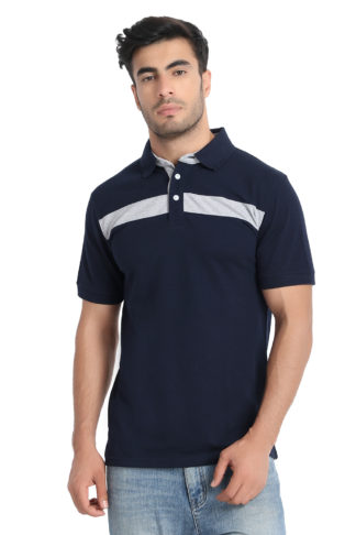 Reich Color PC PK Polo T Shirt Navy