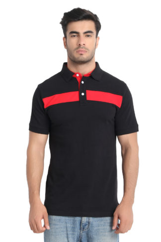 Reich Color PC PK Polo T Shirt Black