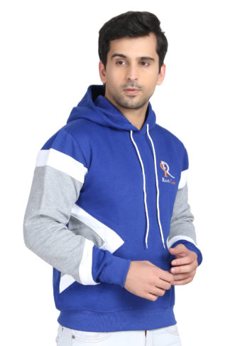 Pc Fleece Multi Color Royal Blue Hoody