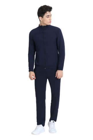 Ns Plain Track Suit Navy